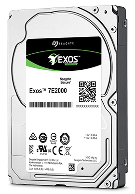 Seagate Exos 7E2000 2.5-Inch Internal 512n SATA Enterprise Hard Drive