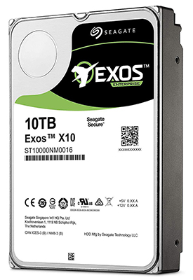 Seagate Exos X10 3.5-Inch Internal 512e SATA Enterprise Hard Drive