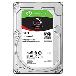 Front View (8TB Hard Drive)